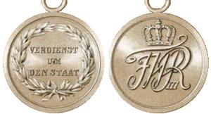Military Honor Medal - Military Honor Medal, 2nd Class 1814
