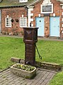 Almshouses and pump, Rolleston on Dove.jpg