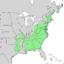 Alnus serrulata range map 1.png