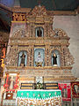 Altar Right Side Baclayon Church Baclayon, Bohol.JPG