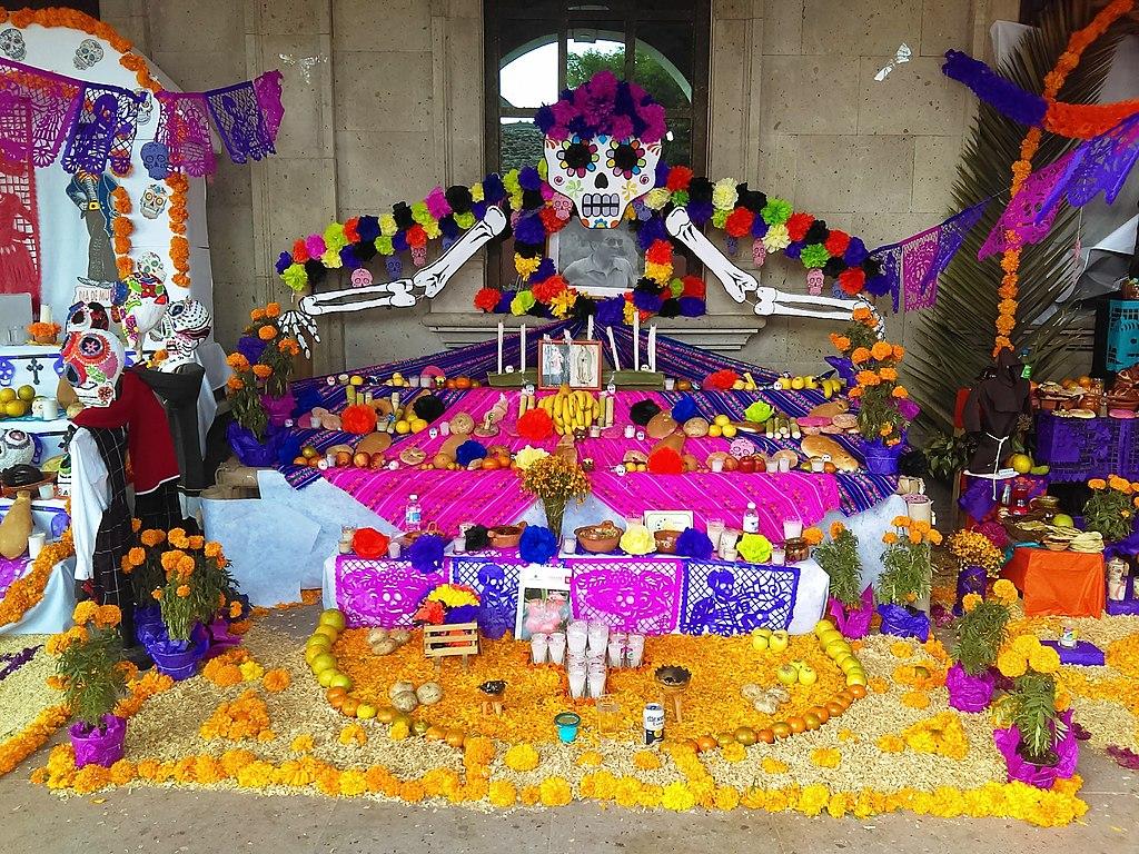 Altar de Día de Muertos en Actopan, Hidalgo, México (2017). 37