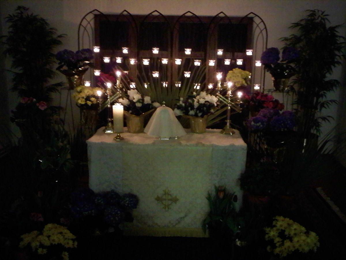Altar of repose - Wikipedia