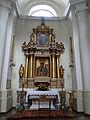 Altar of Saint Francis church in Warsaw - 03.jpg