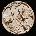 Alto reno, tondo con annunciazione, avorio, 1470 ca.jpg