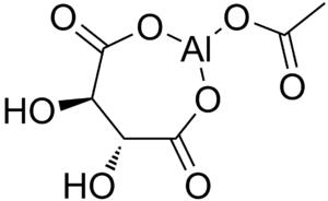 Aluminium acetotartrate