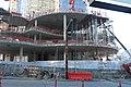 Amazon Tower II biospheres under construction (23329574920).jpg