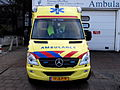 Ambulance Haaglanden unit 15-114, Mercedes at Delft, The Netherlands pic3.JPG