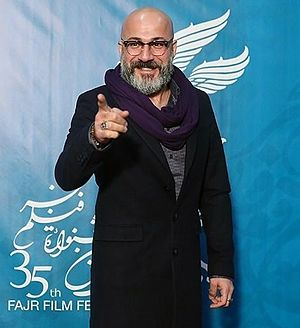 Amir Aghaei - Image: Amir Aghaei at the Day 4 of 35th Fajr International Film Festival 11