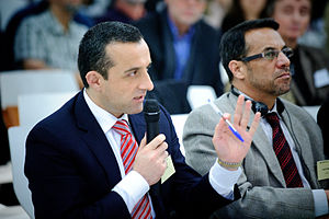 Amrullah Saleh - Amrullah Saleh at an international conference in late 2011.