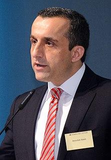 Amrullah Saleh Acting president of Afghanistan (claimed) since 2021