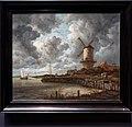 Amsterdam - Rijksmuseum 1885 - The Gallery of Honour (1st Floor) - The Windmill at Wijk bij Duurstede c. 1670 by Jacob van Ruisdael.jpg