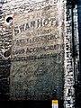 An elegant example of the best British signwriting, Swan Hotel, Bradford On Avon - geograph.org.uk - 1571449.jpg