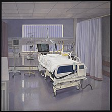 An intensive care unit in a hospital. Wellcome L0075034.jpg