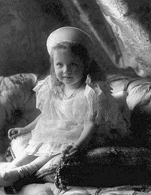 Grand Duchess Anastasia Nikolaevna of Russia - Grand Duchess Anastasia in 1904