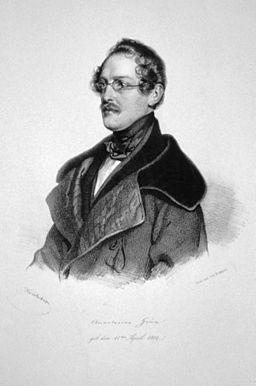 Anastasius Grün Kriehuber Litho