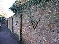 Ancient Brick Wall - Fareham - geograph.org.uk - 1092577.jpg