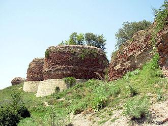 Qutqashen Sultanate - Image: Ancient Gabala 00