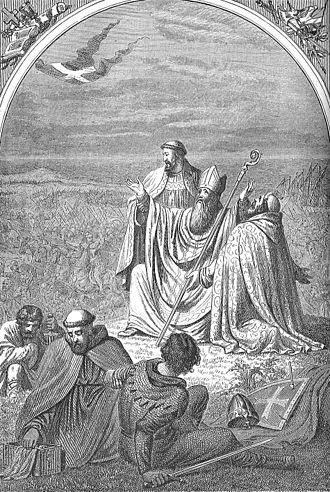 Anders Sunesen - Anders Sunesen in the Battle of Lyndanisse 1219