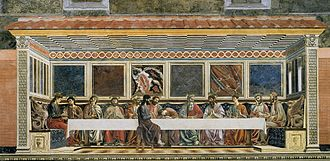 Andrea del Castagno - The Last Supper of Sant'Apollonia.