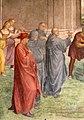 Andrea del Sarto, liberazione di un'indemoniata, 1509-1510, 06.jpg