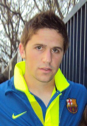 Andreu Fontàs - Fontàs as a Barcelona player (2010)