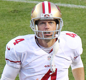 Andy Lee (American football) - Lee with the San Francisco 49ers in 2014