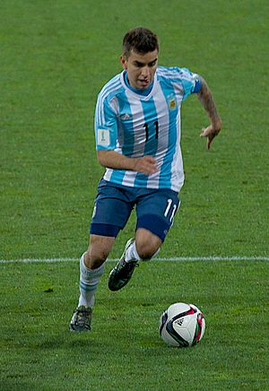Ángel Correa - Correa playing for Argentina U20 at the 2015 FIFA U-20 World Cup.