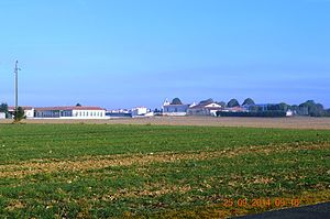 Angliers, Charente-Maritime - Image: Angliers, Charente Maritime, General View