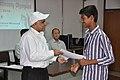 Anil Shrikrishna Manekar Presents Certificate to Appakonda Abhijit Reddy - Orientation cum Selection Camp for XXI International Astronomy Olympiad - NCSM - Kolkata 2016-05-17 3826.JPG