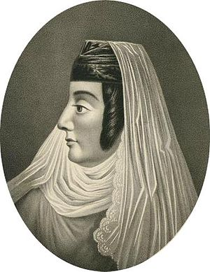 Prince Parnaoz of Georgia - Anna, wife of Prince Parnaoz