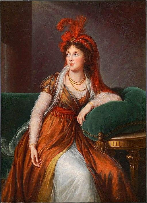 Anna Alexandrovna Galitzin, nee Gruzinsky