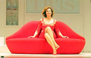 Anna Galiena Italian actress