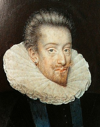Anne de Joyeuse - Anne de Joyeuse (1561-87), Admiral of France, a portrait in the collection of the Palace on the Water in Warsaw.