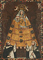 Anonymous Cusco School - Our Lady of the Rosary with Saint Dominic and Saint Rose - Google Art Project.jpg
