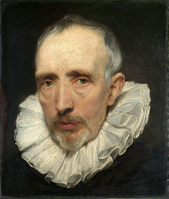 Cornelis van der Geest - Portrait of Cornelis van der Geest by Anthony van Dyck, before 1620, now in the National Gallery