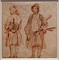 Antoine watteau, due savoiardi con sgabelli a tracolla, 1715 ca. (boijmans van beuningen).jpg