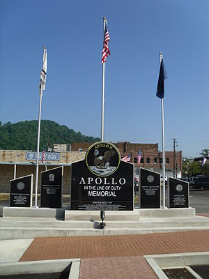 Apollo, Pennsylvania - Apollo 11 Memorial