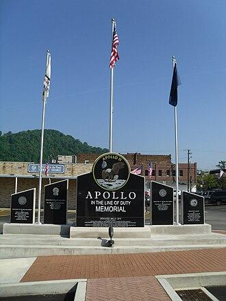 Apollo, Pennsylvania - Apollo 11 Memorial