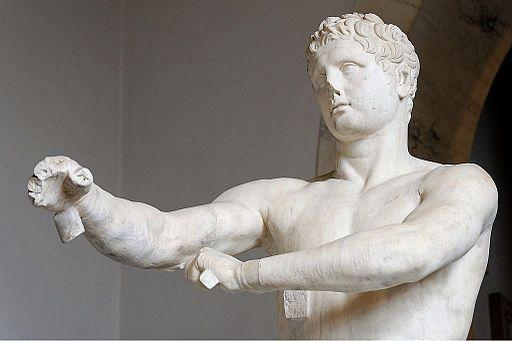 "Vatican Apoxyomenos ""Scraper"" by Lysippus"