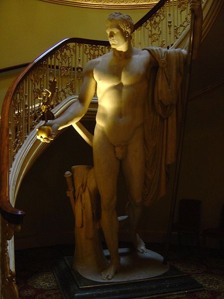 File:Apsley House - Napoleon's statue.JPG