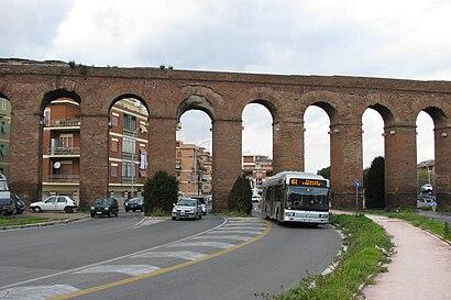 Come arrivare a Prenestino-Centocelle a Roma con Bus, Metro ...