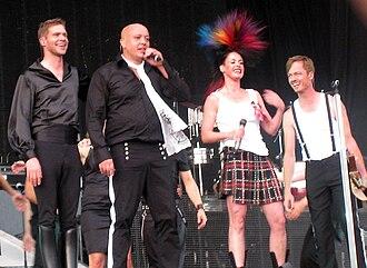 Aqua (band) - Aqua at the Grøn Koncert in 2008.