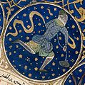 "Aquarius - Horoscope from 'The book of birth of Iskandar"" Wellcome L0040148.jpg"
