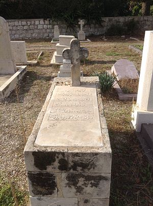 Christianity in Israel - Arab Christian cemetery in Haifa
