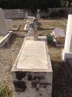 Christianity in Israel - Arab Christian cemetery in Haifa