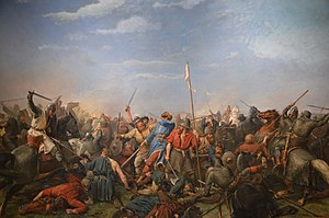 Battle of Stamford Bridge - Battle of Stamford Bridge by Peter Nicolai Arbo