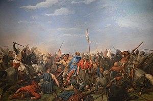 Battle of Stamford Bridge - Battle of Stamford Bridge by Peter Nicolai Arbo