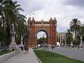 Arc de Triomf Barcelona Spain.JPG