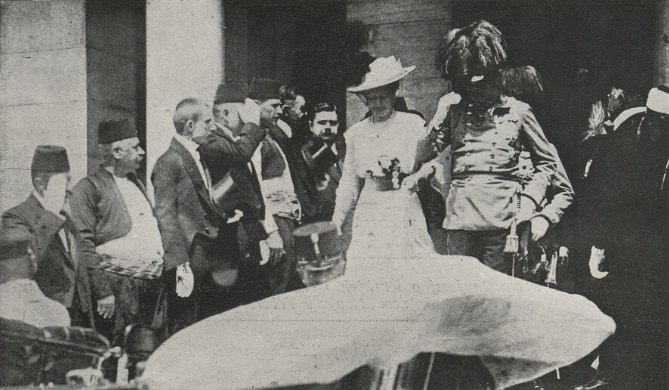Archduke Franz with his wife