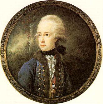 Archduke Joseph, Palatine of Hungary - Archduke Joseph of Austria, Palatine of Hungary, about 1788